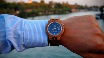 Relojes de madera de hombre