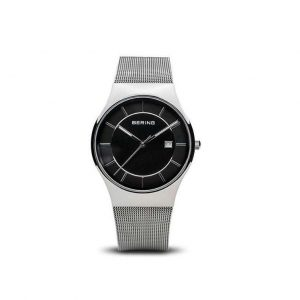Reloj Bering de hombre plateado