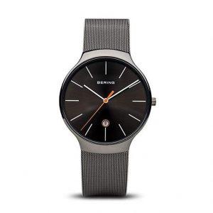 Reloj Bering de mujer gris brillante