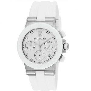 Reloj Bulgari mujer blanco
