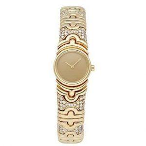 Reloj Bulgari mujer dorado