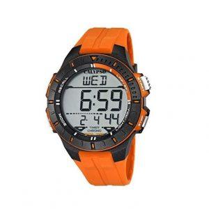 Reloj Calypso de hombre naranja