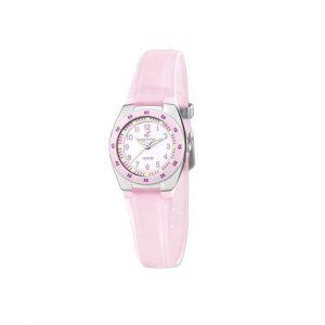 Reloj Calypso de mujer rosa pastel