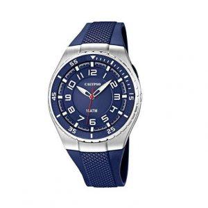Reloj Calypso para hombres azul oscuro