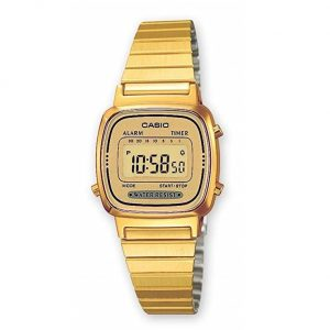 Reloj Casio mujer dorado