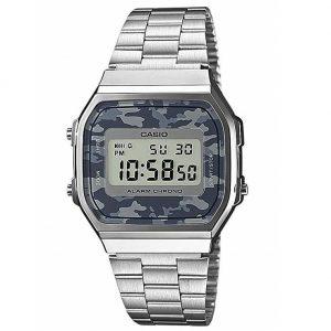 Reloj Casio mujer estampado militar