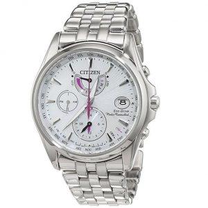 Reloj Citizen mujer con detalles fucsia