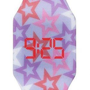 Reloj de comunión de niña digital de silicona
