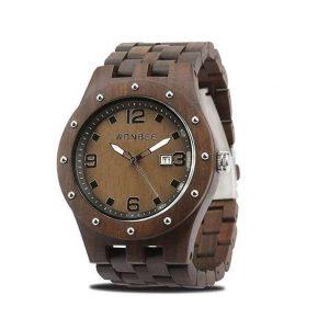 Reloj de madera para hombre artesanal