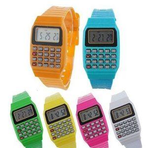 Reloj de niño para comunión con calculadora