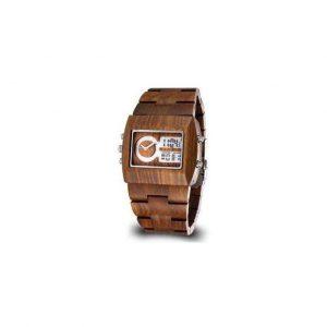Reloj de pulsera de madera para hombres