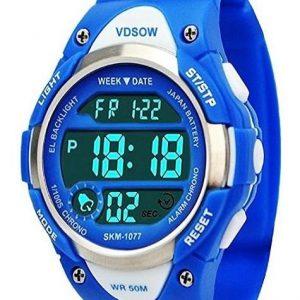Reloj digital para niños con alarma