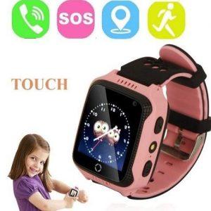 Reloj digital para niños con GPS