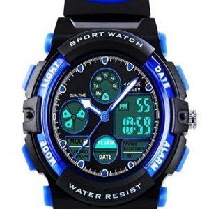 Reloj digital para niños deportivo