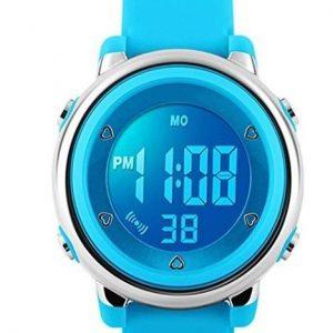 Reloj digital para niños resistente al agua