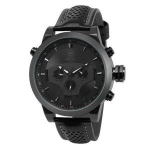 Reloj elegante de hombre Shark negro