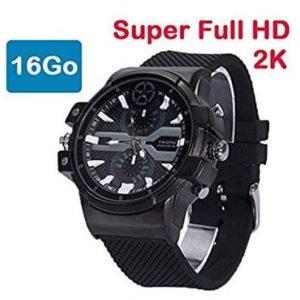 Reloj espía Super Full HD con detección de movimiento