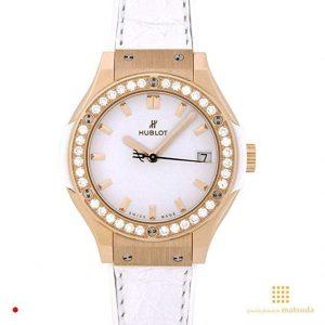 Reloj Hublot de mujer dorado