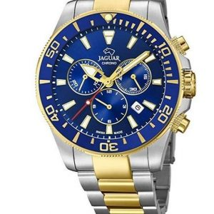 Reloj Jaguar para hombre con esfera azul