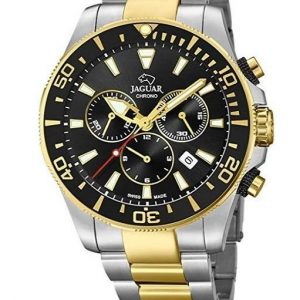 Reloj Jaguar para hombre de acero inoxidable