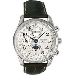 Reloj Longines hombre detalles azules