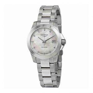 Reloj Longines mujer plata