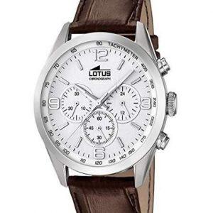 Reloj Lotus para hombre con correa de piel