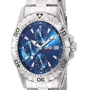 Reloj Lotus para hombre con esfera azul