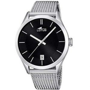Reloj Lotus para hombre con esfera negra