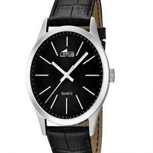 Reloj Lotus para hombre de color negro