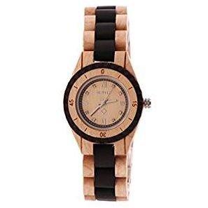 Reloj madera mujer a la moda