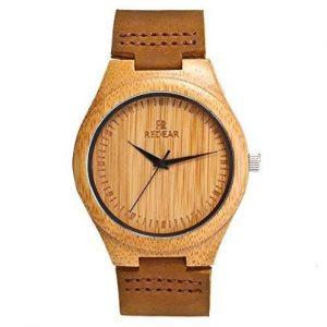 Reloj madera mujer bambú