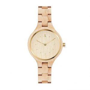 Reloj madera mujer minimalista