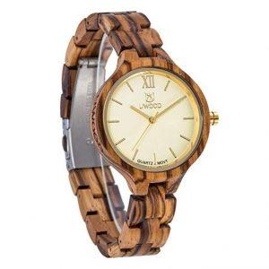 Reloj madera mujer original
