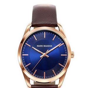 Reloj Mark Maddox para hombre con correa de piel