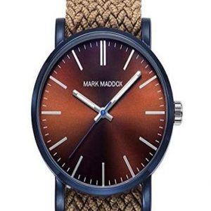 Reloj Mark Maddox para hombre con correa de tela