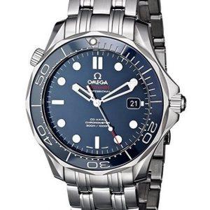 Reloj Omega para hombre con correa de acero inoxidable