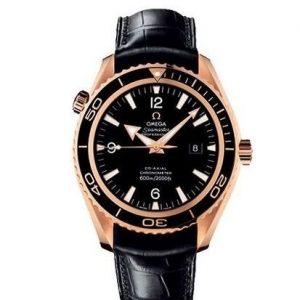 Reloj Omega para hombre con correa de piel