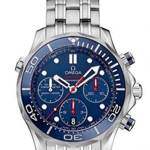 Reloj Omega para hombre con esfera azul