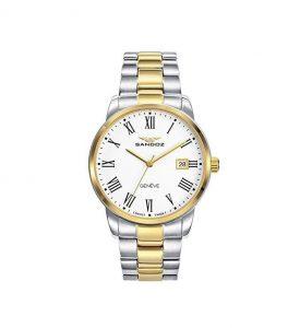 Reloj Sandoz mujer dorado y plata
