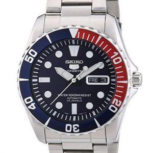 Reloj Seiko para hombre de acero inoxidable