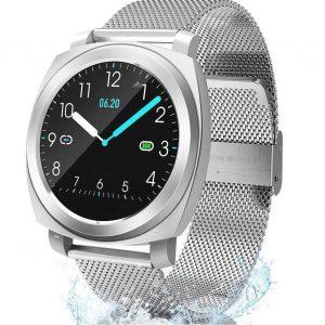 Reloj smartwatch inteligente para mujer moderno