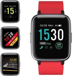 Reloj smartwatch para mujer con pulsómetro