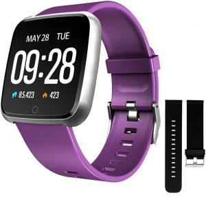 Reloj smartwatch para mujer morado