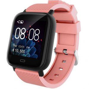 Reloj smartwatch para mujer rosa
