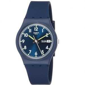 Reloj Swatch mujer azul oscuro