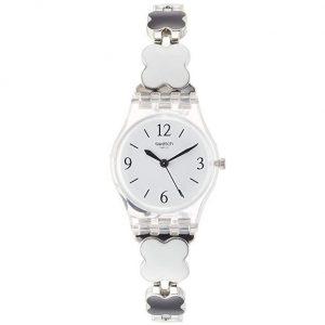Reloj Swatch mujer transparente