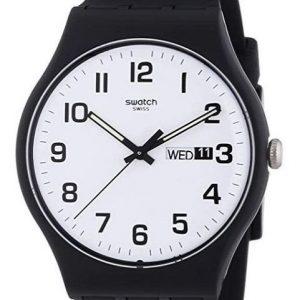 Reloj Swatch para hombre de cuarzo negro