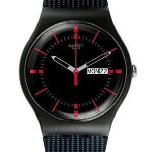 Reloj Swatch para hombre negro