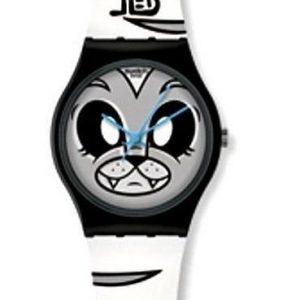 Reloj Swatch para niño de gato